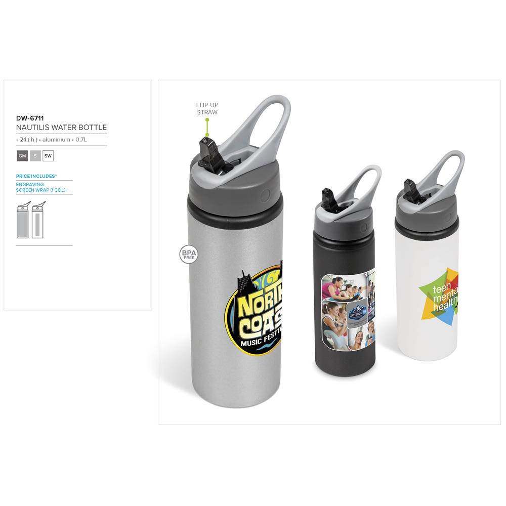 Nautilis Water Bottle - 700Ml