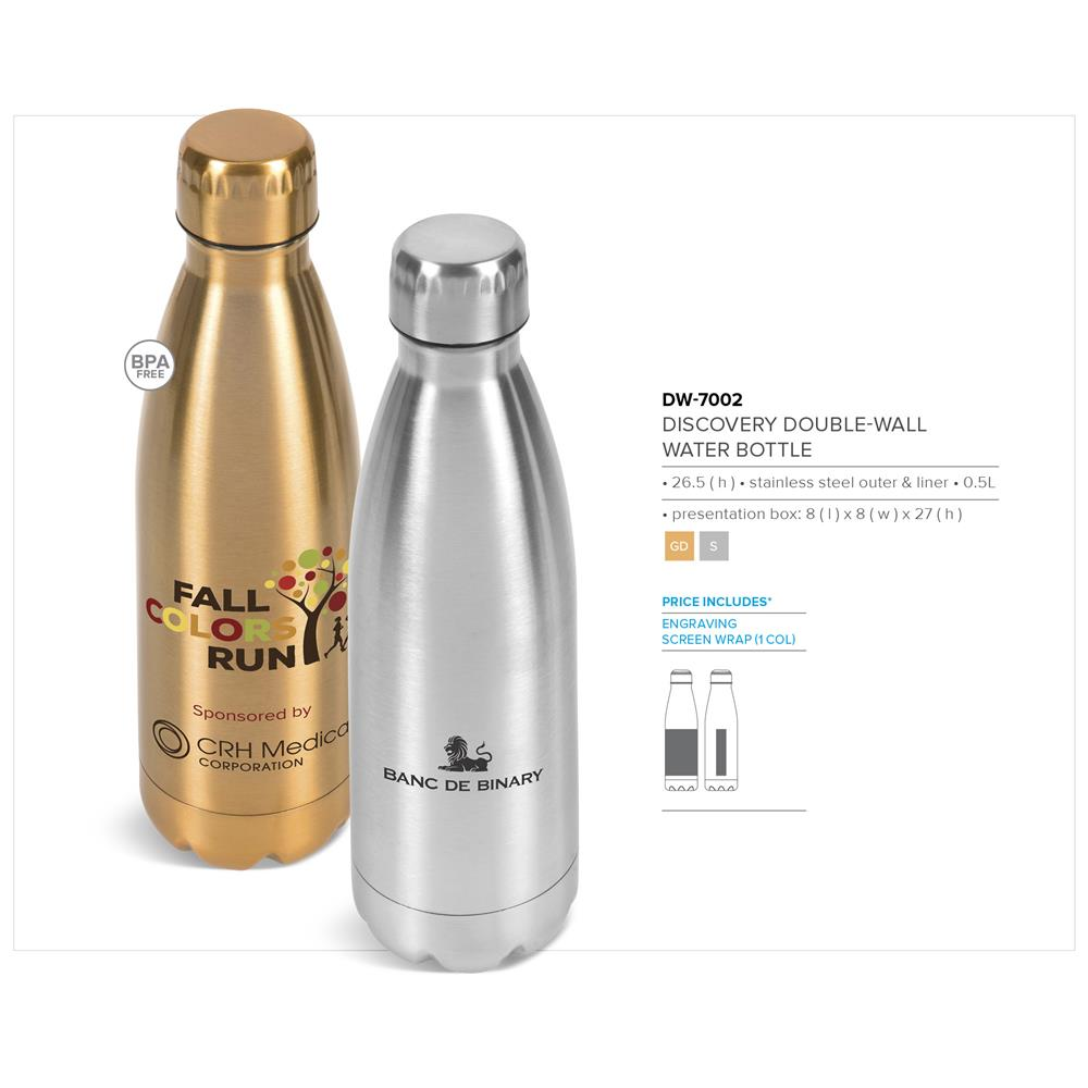Discovery Double-Wall Water Bottle - 500Ml