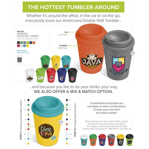 Americana Double-Wall Tumbler - 350Ml