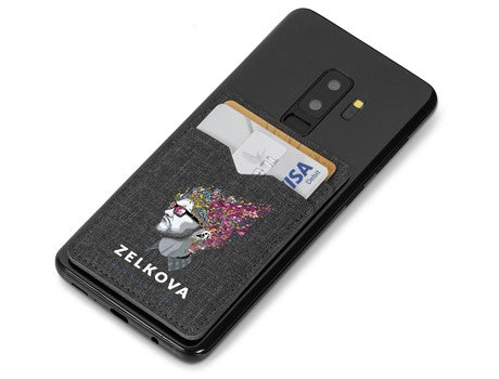 Aurora Double Phone Card Holder