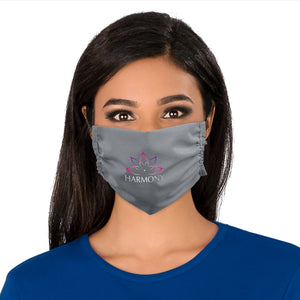 Eva & Elm Adults Polycotton Face Mask - Single - Grey Only