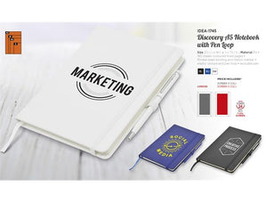Discovery A5 Notebook With Pen Loop