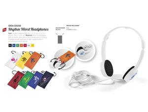 Rhythm Wired Headphones