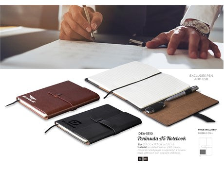 Peninsula Midi Notebook