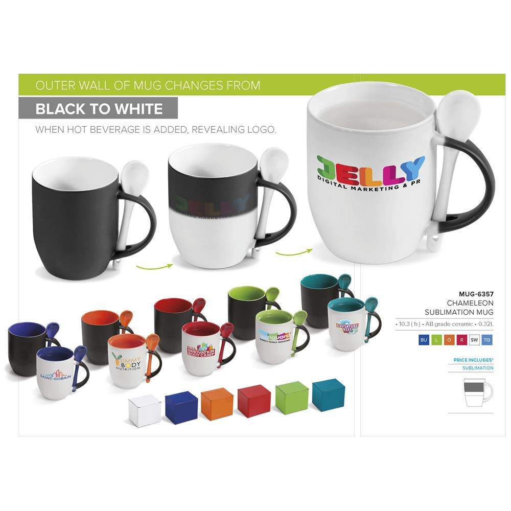 Chameleon Sublimation Mug - 325Ml