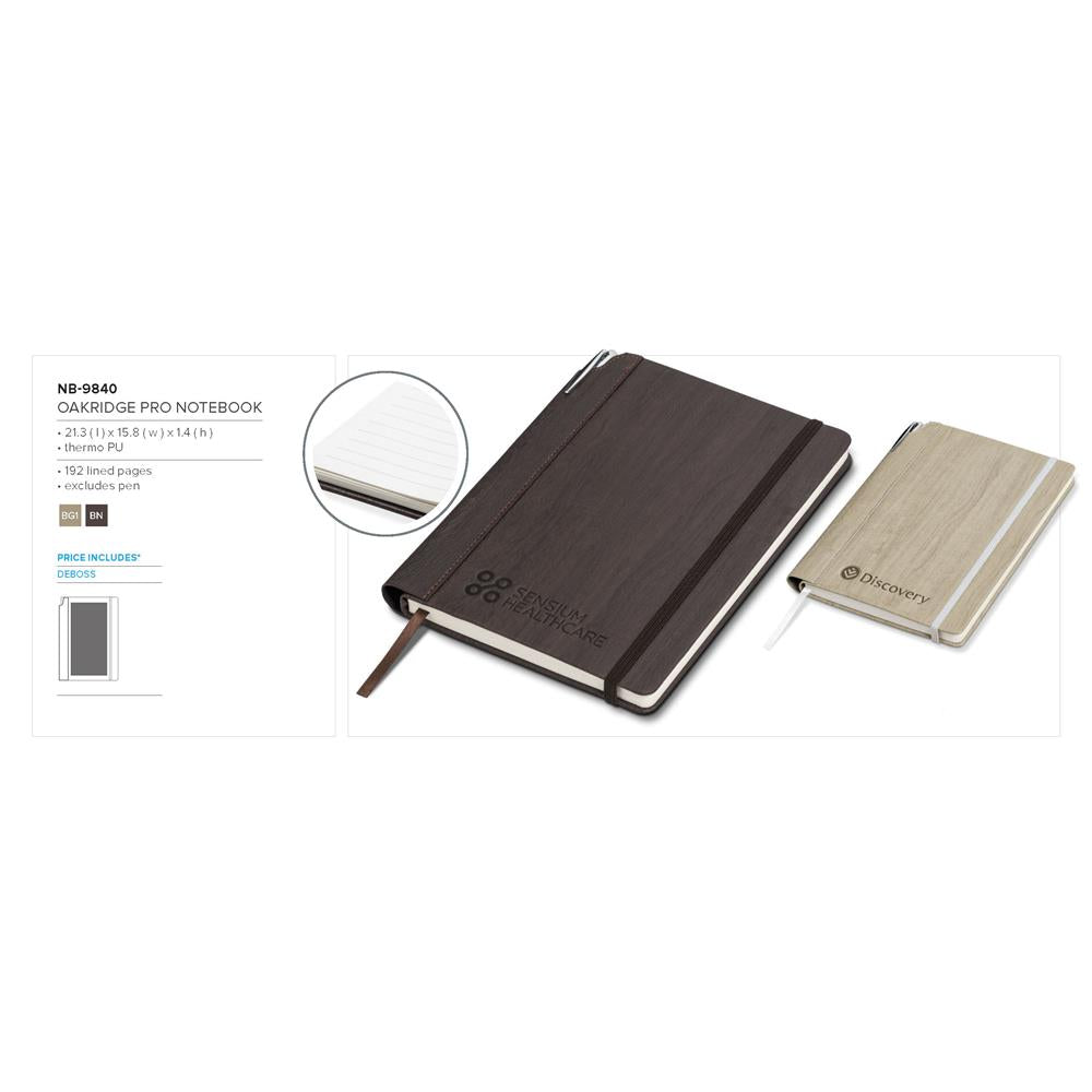 Oakridge Pro Notebook