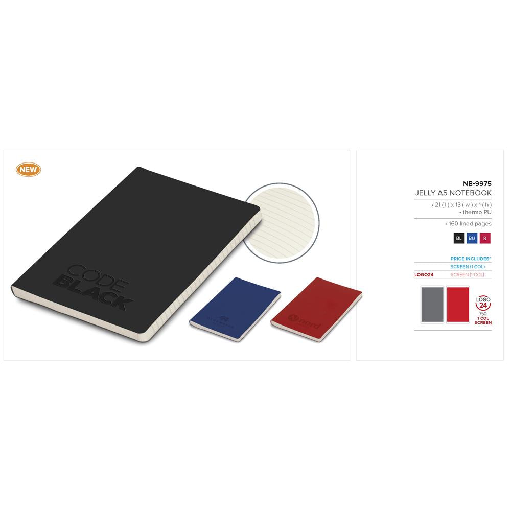 Jelly A5 Notebook