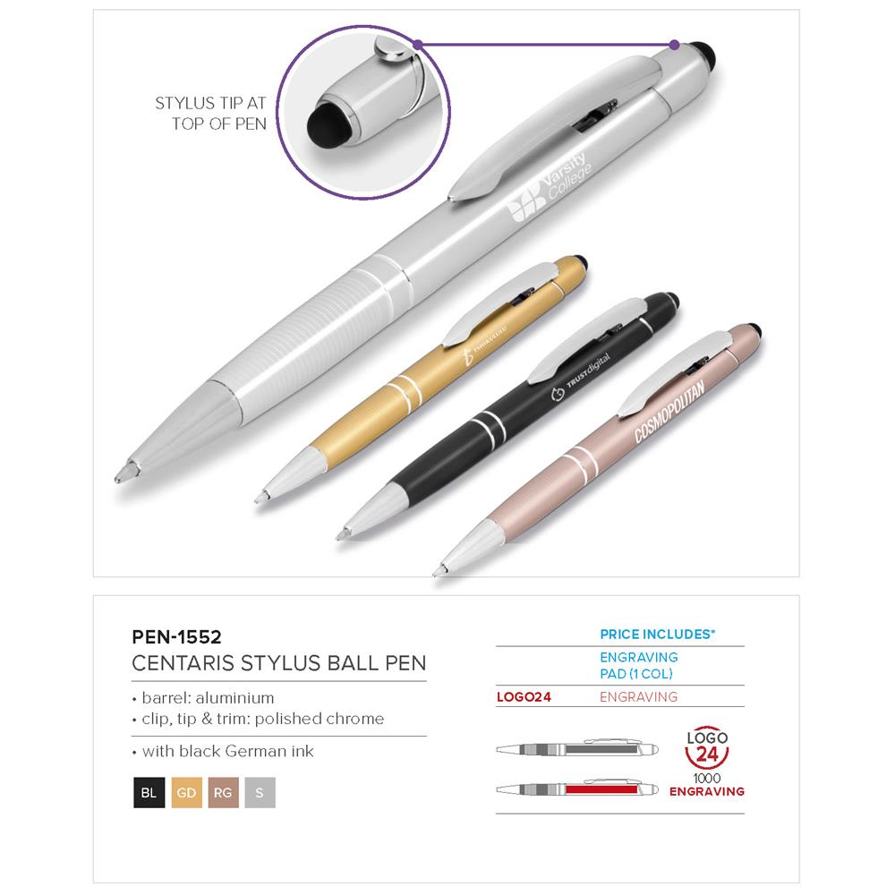 Centaris Stylus Ball Pen