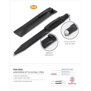 Andorra Stylus Ball Pen