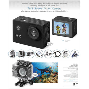 Thrill-Seeker Action Camera