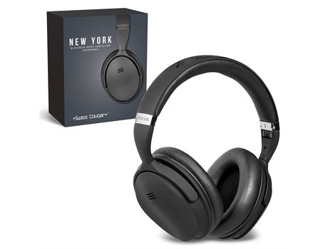 Swiss Cougar New York Bluetooth Noise-Cancelling Headphones