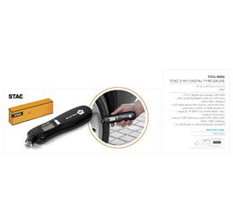 Stac 3-In-1 Digital Tyre Gauge