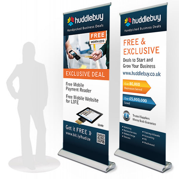 Roll-up Banner Executive Stand
