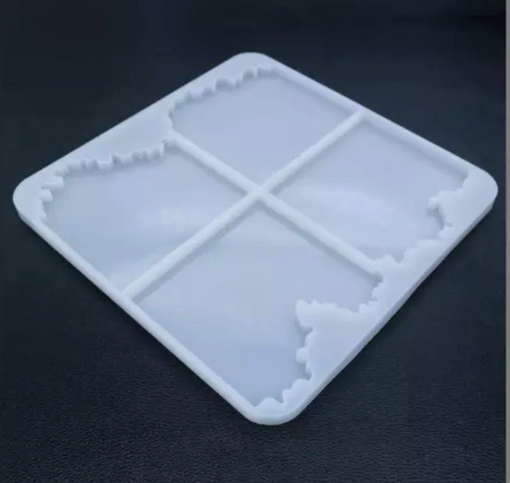 Square Coaster  Mold