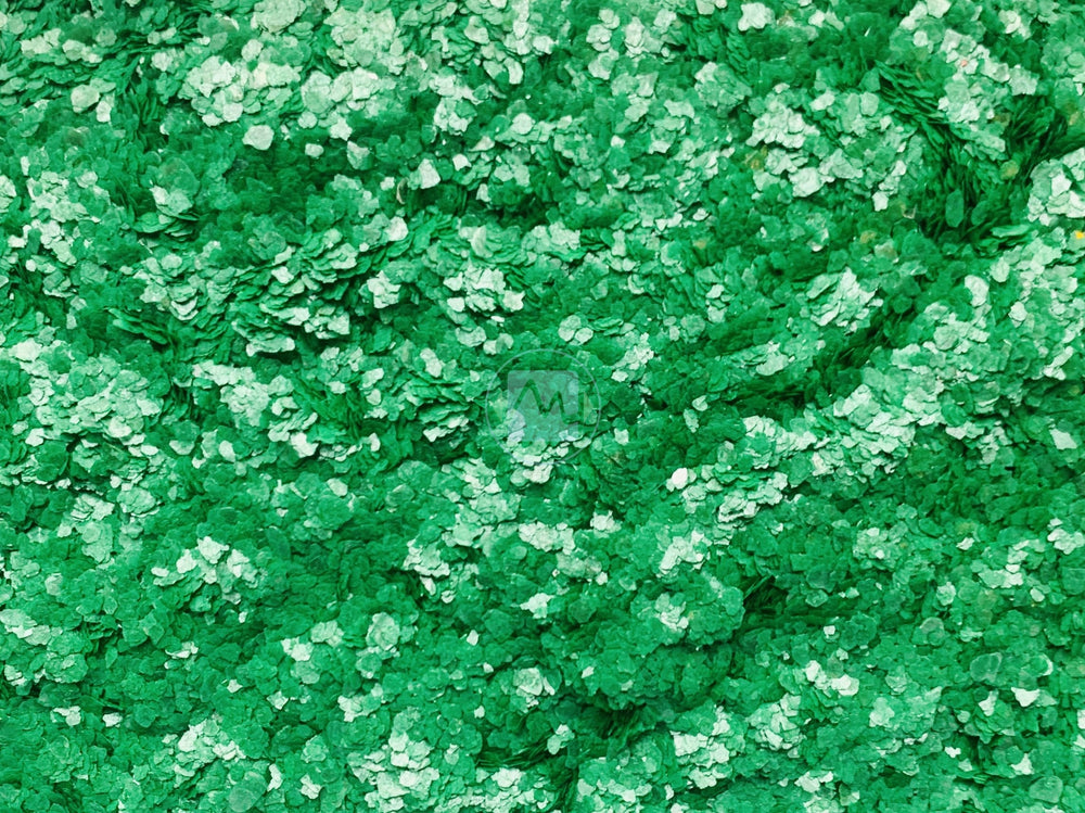 Green Mica Flakes