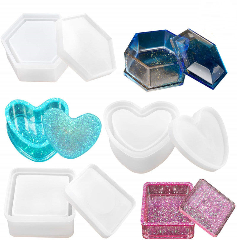 Jewelry Box Molds (sold separatly)