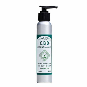 Hemp CBD Gel Pump - 4oz