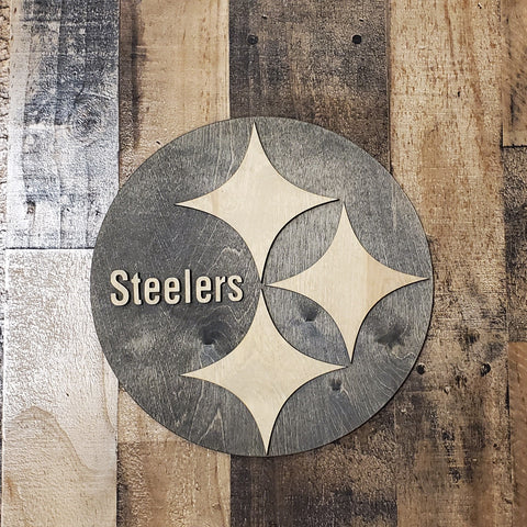 Steelers wall hanging
