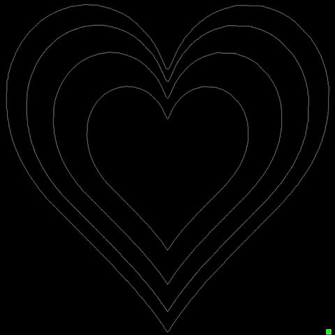 Heart Template 2 (Large)
