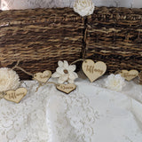 Wooden Heart Tags (40)