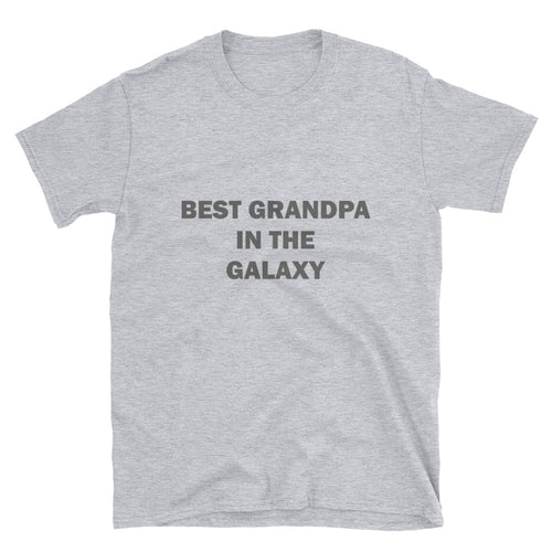 Best Grandpa In The Galaxy T shirt