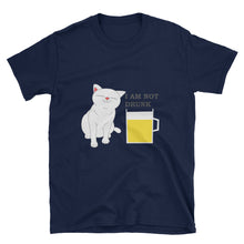 Load image into Gallery viewer, Drunk Cat T shirt