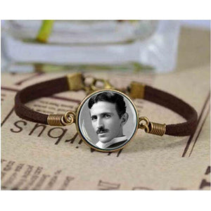Nikola Tesla Photo Bracelet