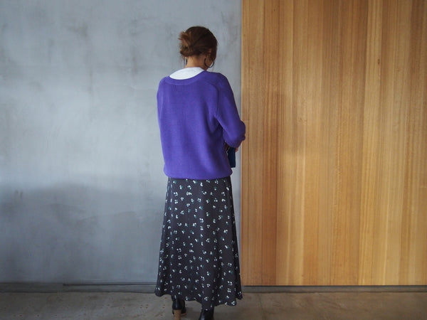 "Color Knit ""Purple"""