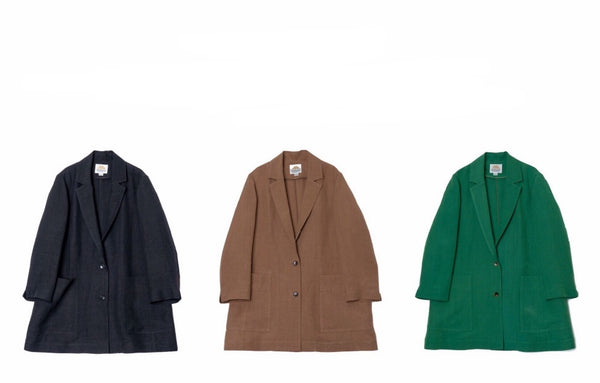 "Staff Styling By Height ""Linen Satin Jacket"""