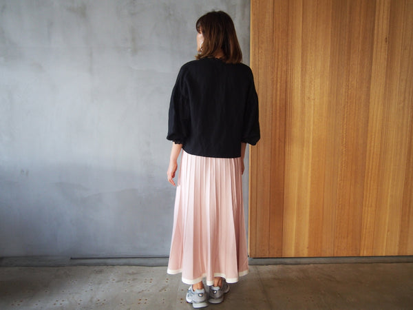 Limited Pleats Skirt Styling