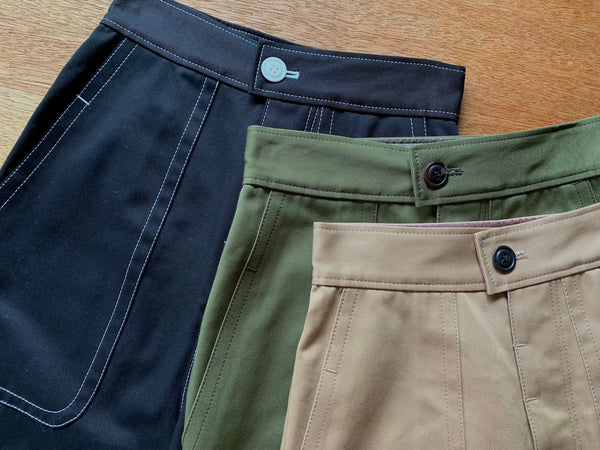 Combed Yarn Chino Fatigue Pants