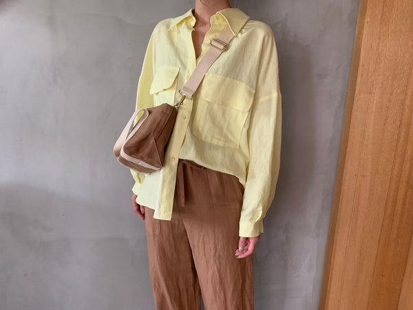 "Pic Up ""Linen Satin Pants 3"""