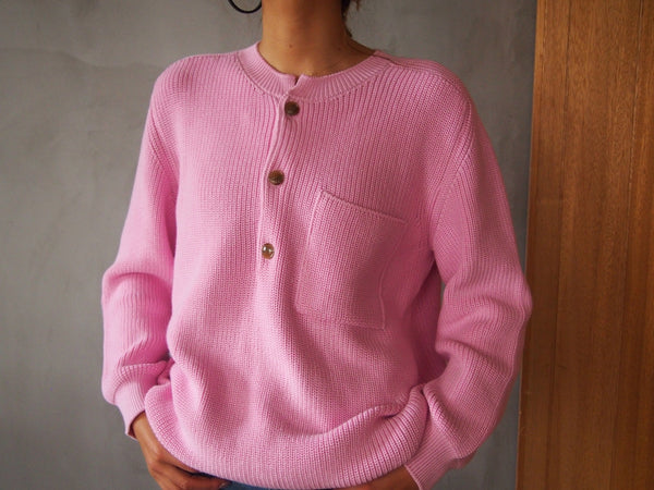 Cardigan Rib Stitch Knit