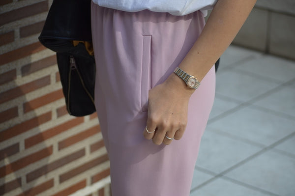 Stretch Double Cloth Pants