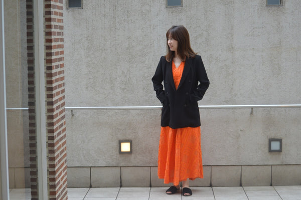 Dress In Orange