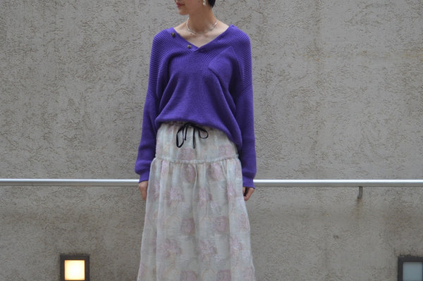 Purple×Jacquard