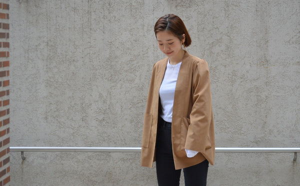 "Pick Up Item ""Soft Suede Jacket"""