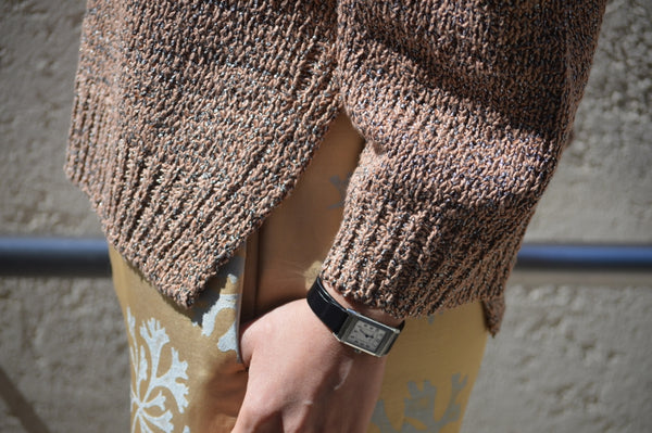 Wave Tape Knit
