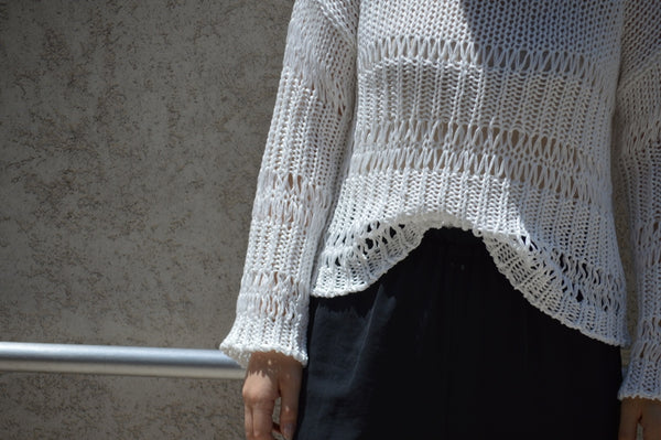 Loose Cotton Sweater