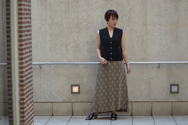 "Pick Up Item ""Argyle Check Jacquard Skirt"""