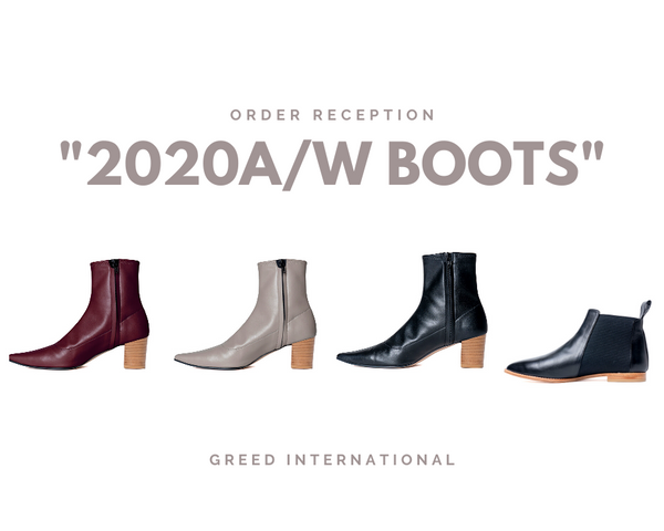 "Order Reception ""2020A/W Boots"""