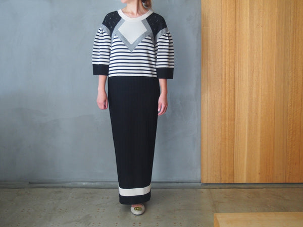 Pattern Stripe Knit