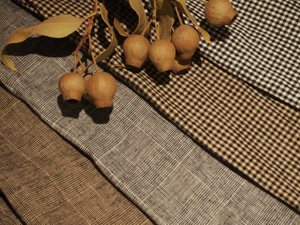 Cotton Linen Check