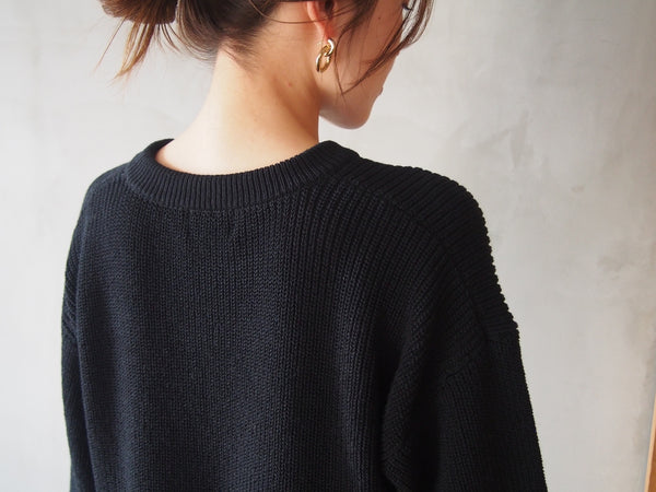 "Dry Cotton Knit Limited Color ""Black"""