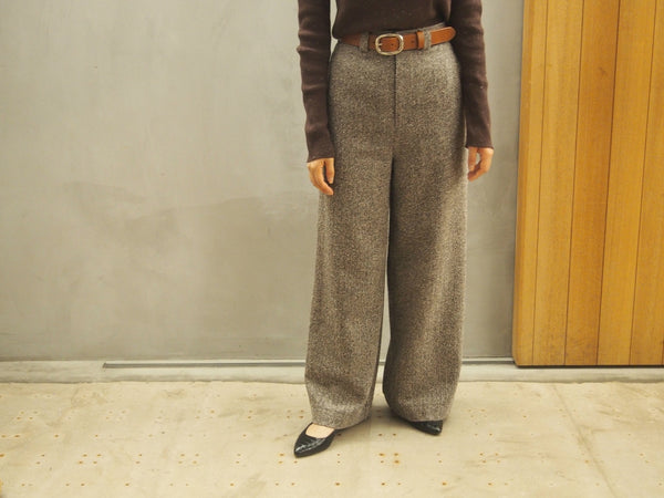 Jazz Nep Tweed Wide Pants