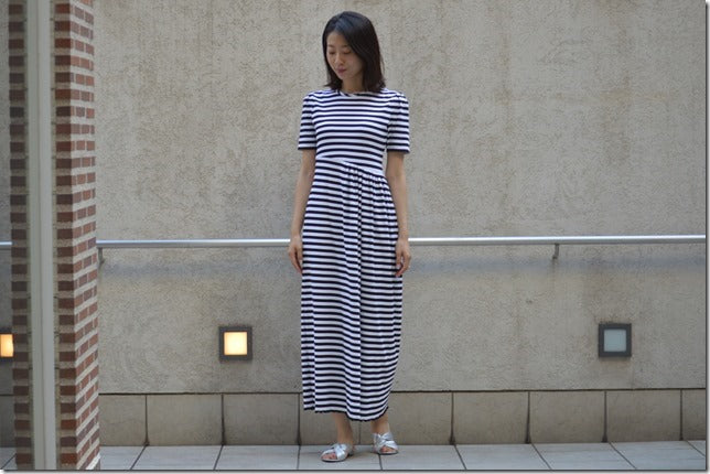 TECHNORAMA STRIPE DRESS