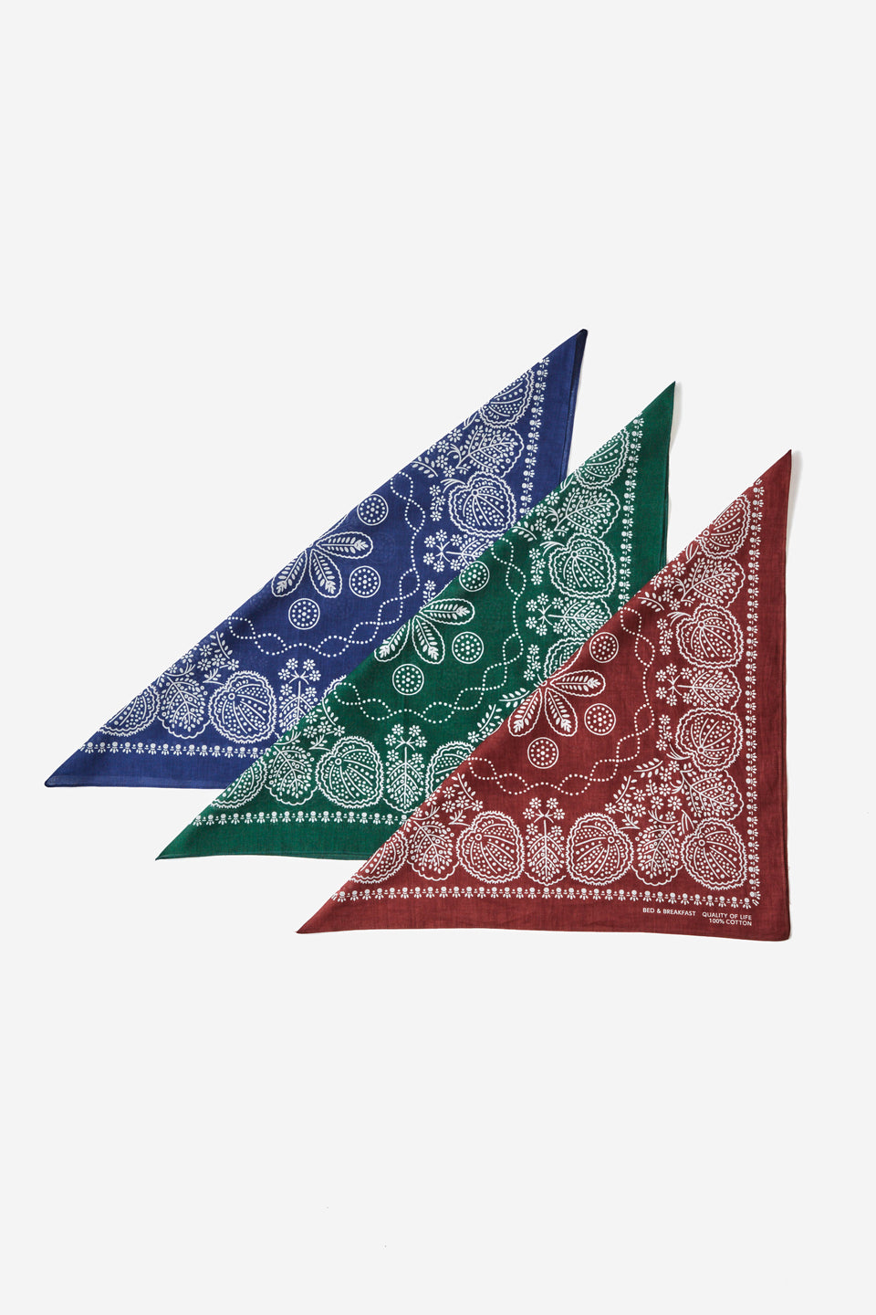 B&B Leaf Bandanna