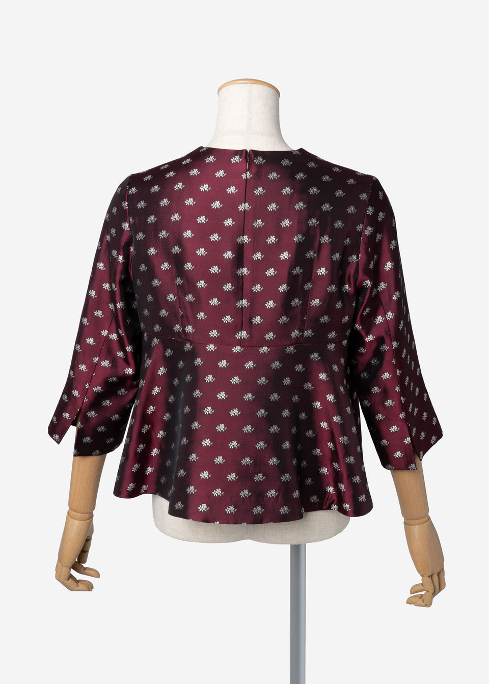 Dutel Floret Blouse in Bordeaux