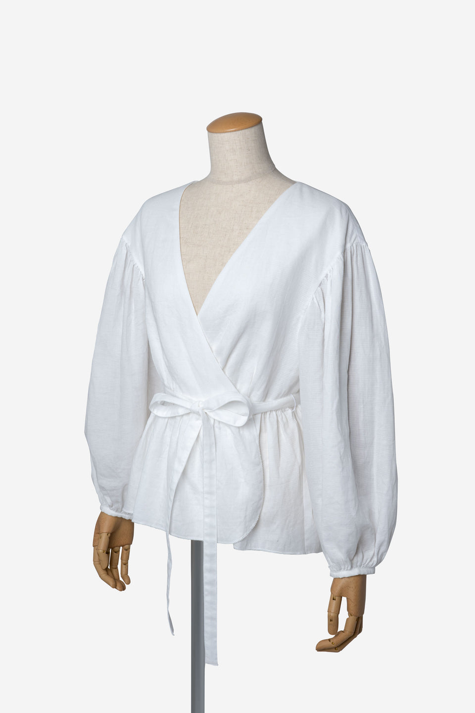 Soft Cotton Blouse in Off White