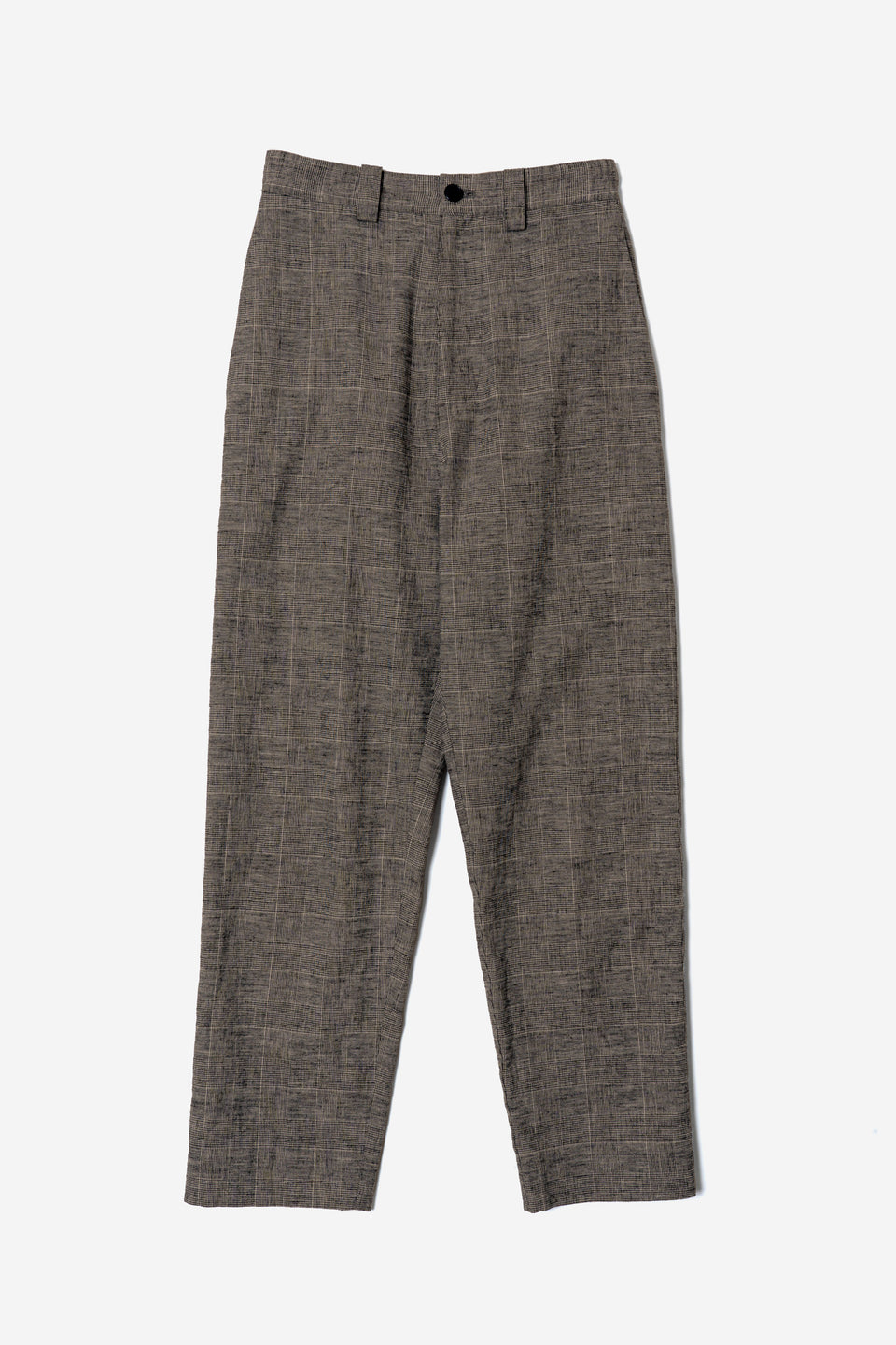 Co/Li Check Balloon Pants in Beige Mix